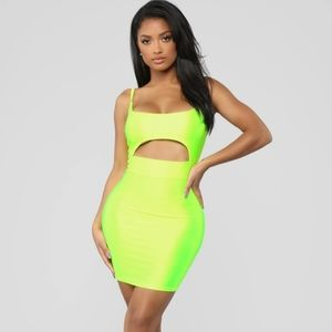 Fashion Nova 'Cut to the Chase Mini Dress'